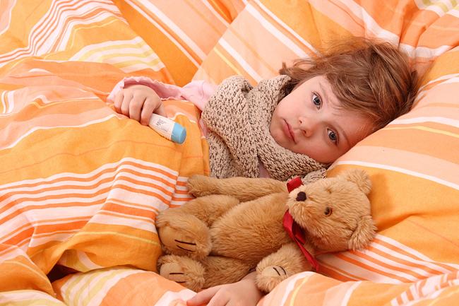 Как лечить грипп в домашних условиях у ребенка