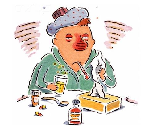 как начинается грипп