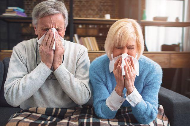 грипп у престарелых