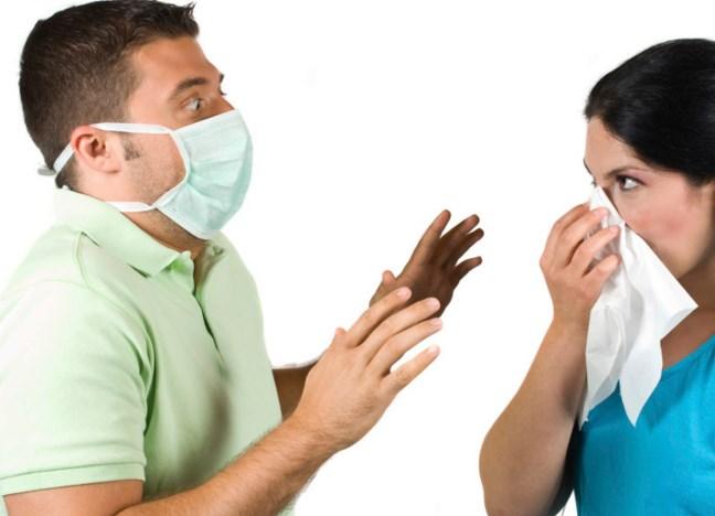 Не контактируйте с больными