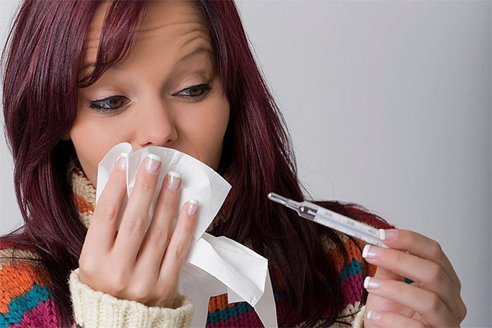 высокая температура при гриппе
