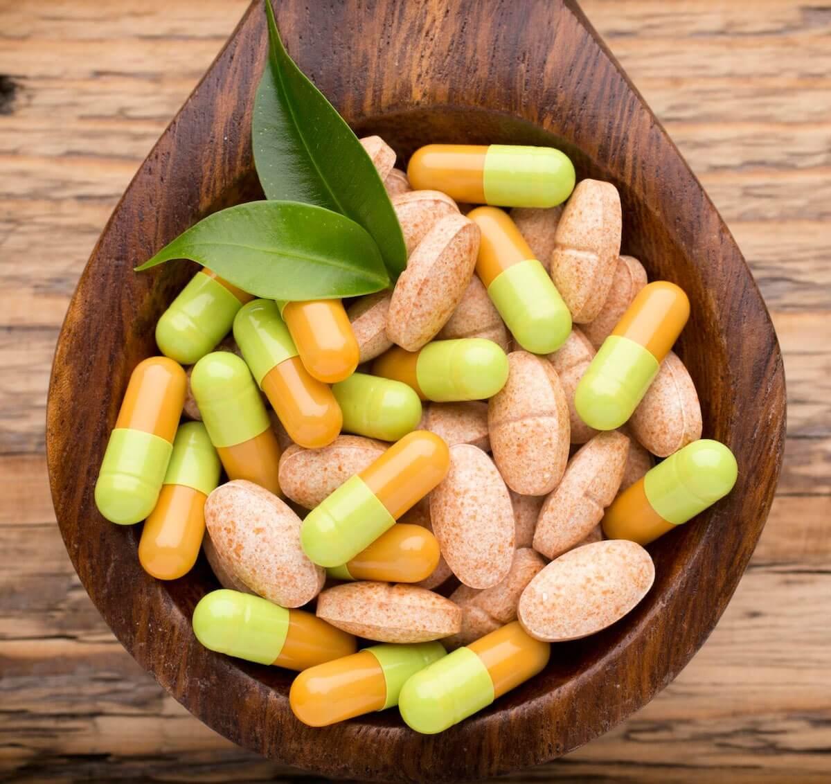 Принимайте пищевые добавки