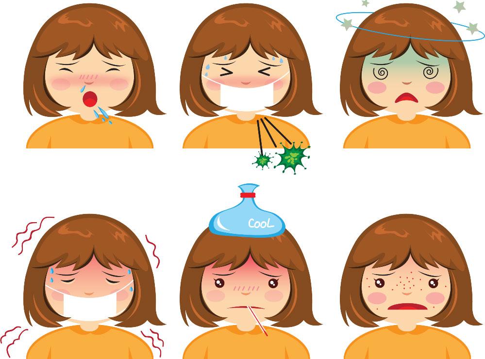 Симптомы ОРВИ у детей