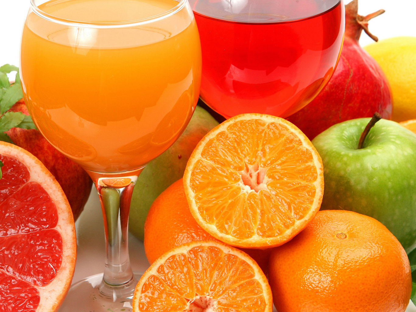 лимоны, грейпфруты, апельсины