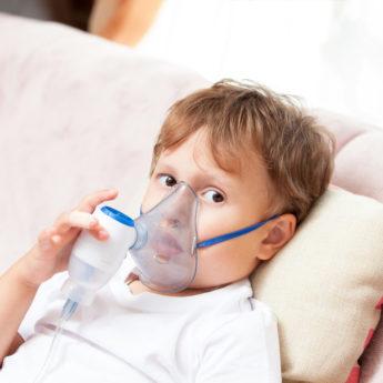 Ингаляции при температуре у ребёнка