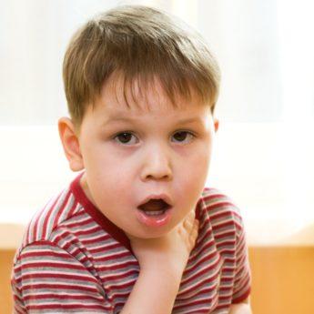 Сильный сухой лающий кашель у ребенка